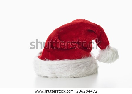 Santa Claus hat - stock photo
