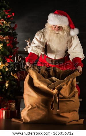 Santas Toy Bag Stock Images Royalty Free Images Amp Vectors