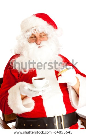Santa Claus Drink Stock Images Royalty Free Images