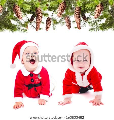 Santa girl - stock photo