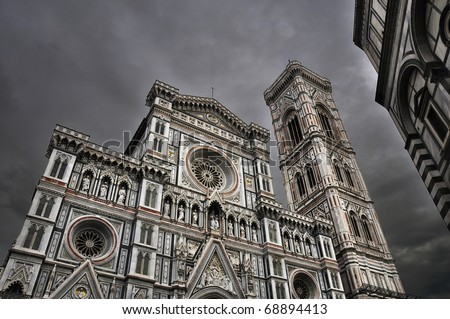 Santa Maria de Fiore cathedral in Florence, Italy