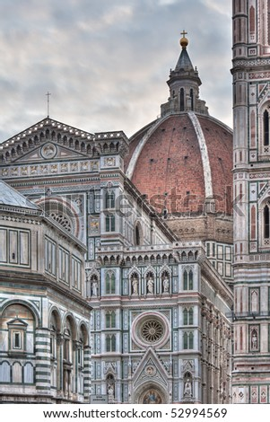 Santa Maria del Fiore in Florence, Italy - hdr image
