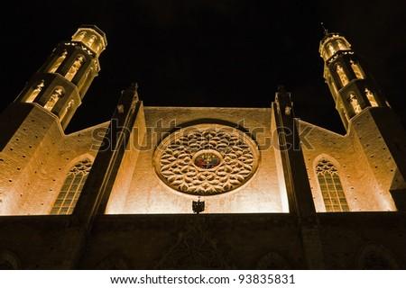 Santa Maria del Mar church - stock photo