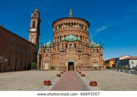 Santa Maria della Croce church in Crema, Italy - stock photo