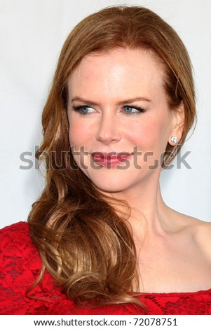 SANTA MONICA, CA - FEB 26:  Nicole Kidman arrives at the 2011 Film Independent Spirit Awards at the Beach on February 26, 2011 in Santa Monica, CA - stock photo