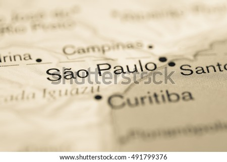 Sao Paolo. South America.