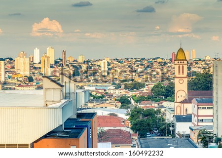 Sao Paulo City , Brazil - Latin America - stock photo