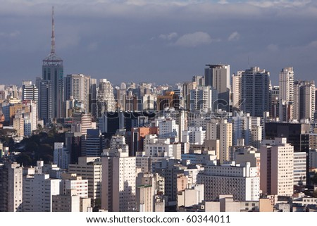 Sao Paulo skyline - stock photo