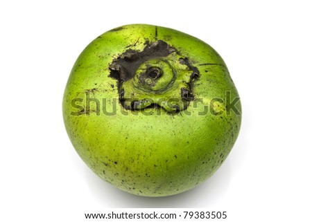 Sapote or chocolate pudding fruit - stock photo