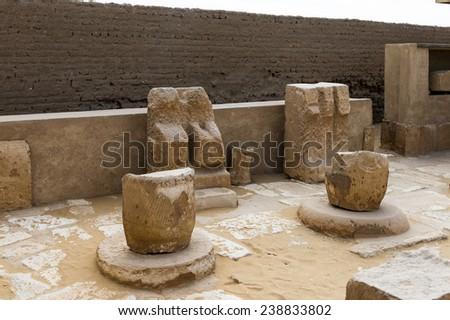 Saqqara New Kingdom necropolis, Egypt. UNESCO World Heritage - stock photo
