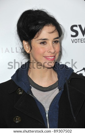 "Sarah Silverman at the Los Angeles premiere of ""Super"" at the Egyptian Theatre, Hollywood. March 21, 2011  Los Angeles, CA Picture: Paul Smith / Featureflash"