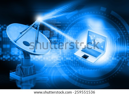 Abstract communication in satellite thesis