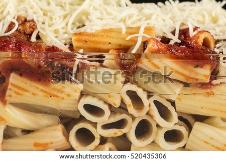 Sausage penne