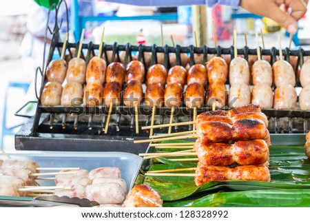 Sausages in Thailand, Thai style food
