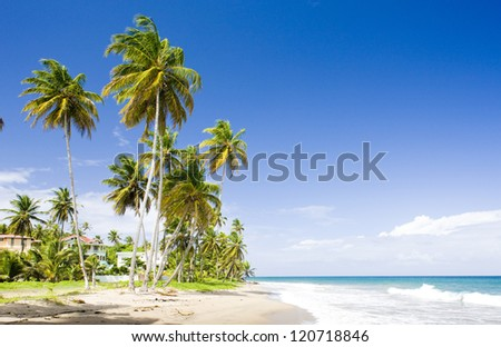 Sauteurs Bay, Grenada - stock photo