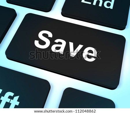 Save Computer Key Shows Discounts Or Promotion