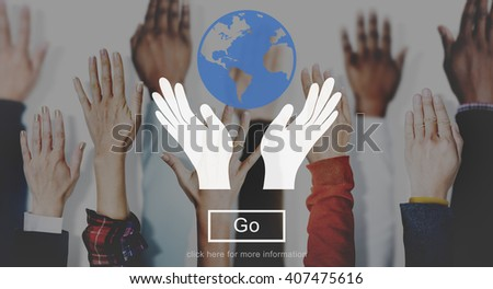 Save Earth World Community Global Concept - stock photo
