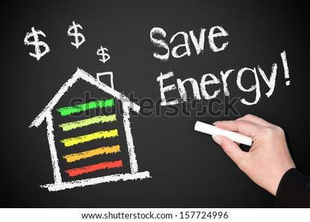 Save Energy ! - stock photo