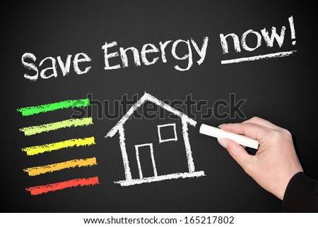 Save Energy now ! - stock photo