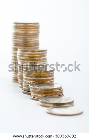 Save money and your budget for inverstment your business - stock photo