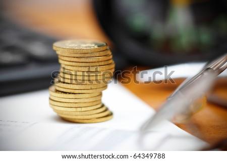 save money plan - stock photo