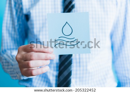 Save Water - stock photo