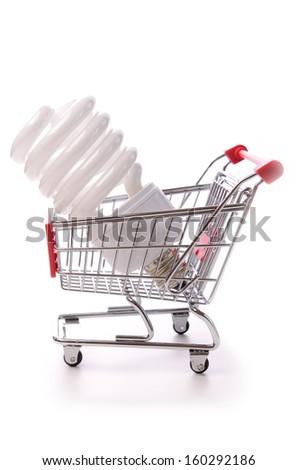 Saving energy - stock photo