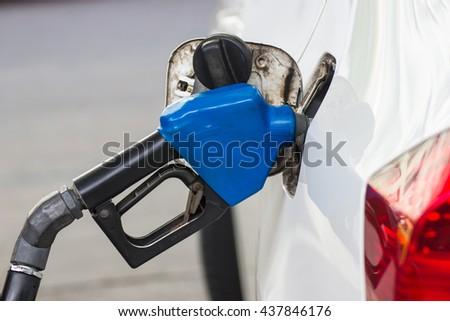 Saving energy helps fuel economy. - stock photo