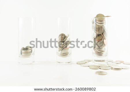 Saving for growth asset - stock photo