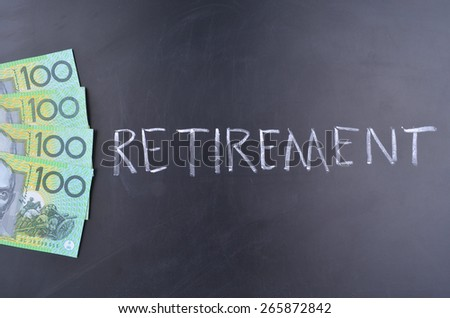 Saving for Retirement - stock photo