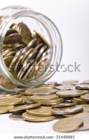 Saving money concept - stock photo