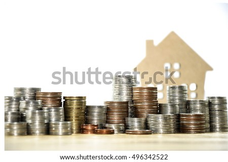 Saving Money For Buying A House, Housing Loan, House And Money