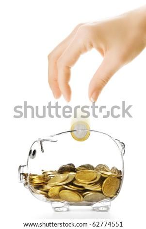 Savings - stock photo