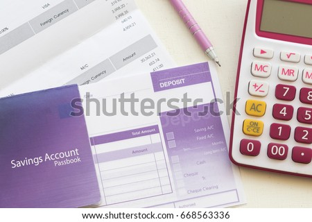 Savings Account Stock Images, Royalty-Free Images & Vectors