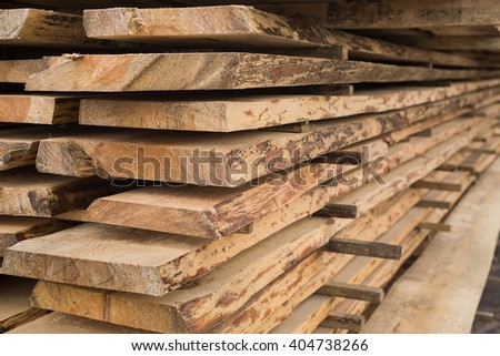 sawmill, wood processing, timber drying, timber harvesting, drying boards, baulk, hydrothermal treatment of wood, mechanical wood processing  - stock photo
