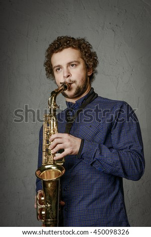 Saxophonist in the house