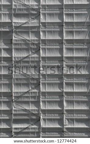scaffold - stock photo