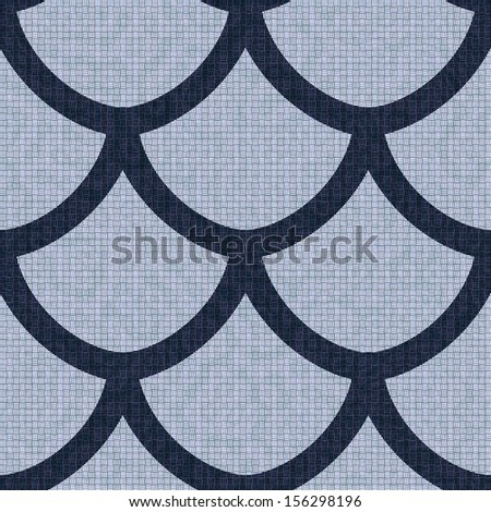 Scale seamless pattern, background - stock photo