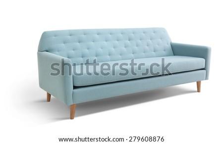 Scandinavian sofa - stock photo