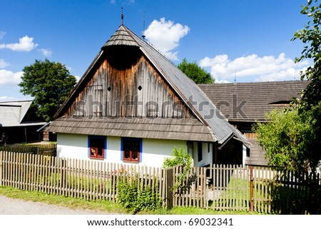 scanzen in Vesely Kopec, Czech Republic - stock photo