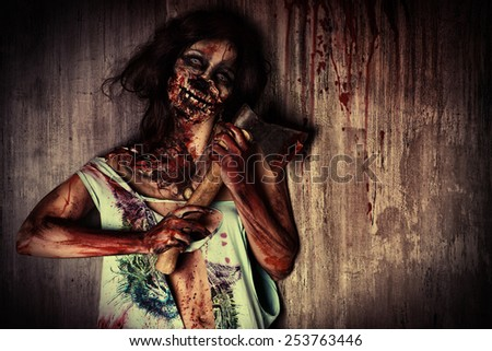 Scary Halloween Clown Stock Photo 534697885 - Shutterstock