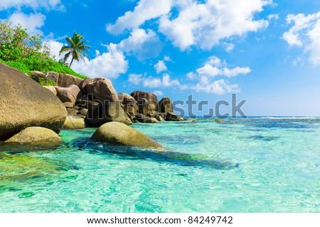 Scene Seascape Eden - stock photo