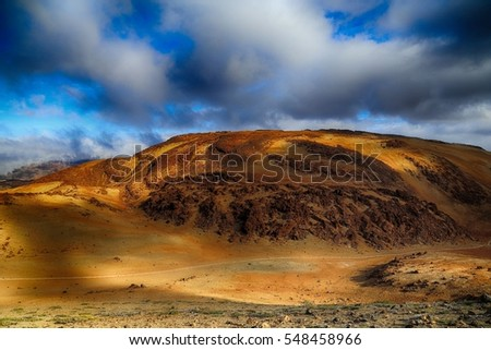 Scenery from Teide national park, Tenerife