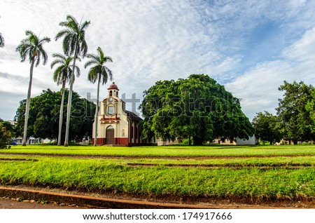 scenes from cuban streets and towns. - stock photo