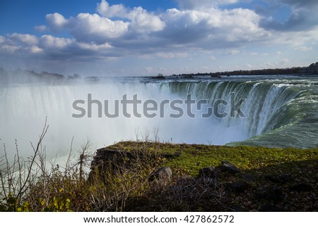 Scenic Niagara Falls, Ontario, Canada - stock photo