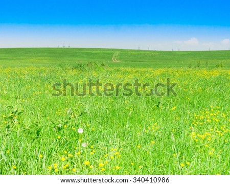 Scenic View Nobody Outside  - stock photo