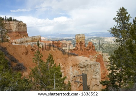 scenic view of Agua Canyon
