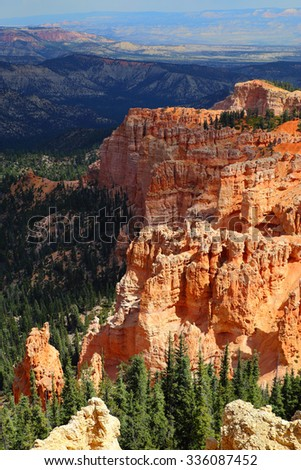 Scenic view of Bryce Canyon National Park, Utah, USA