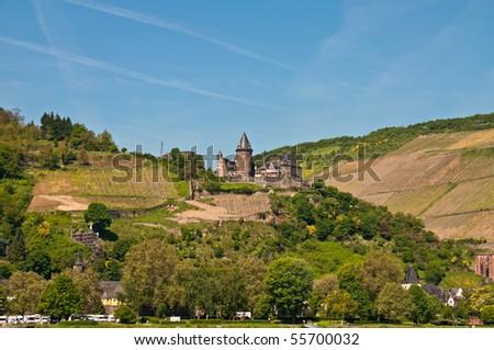 Schoenburg in Naumburg - stock photo