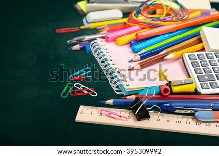 School. - stock photo